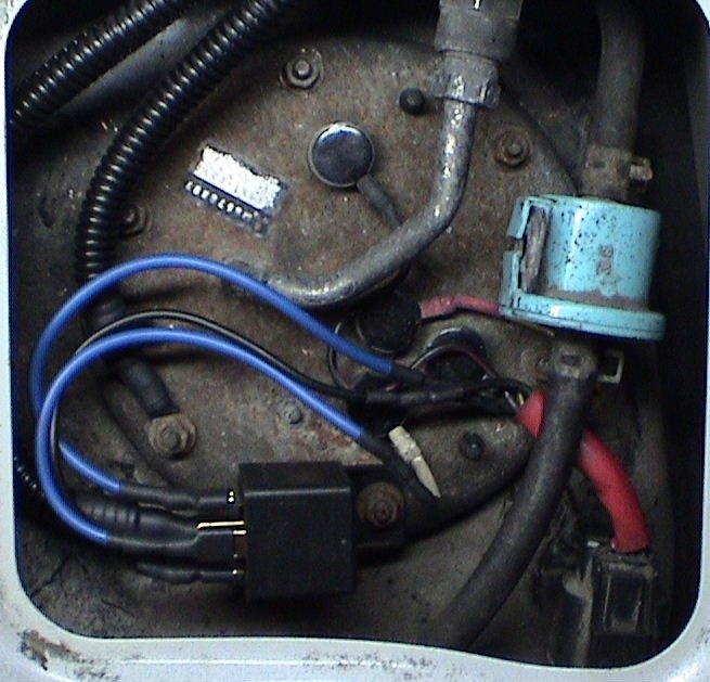 Fuel Pump Hotwire.... no Extra Relay/Just rewire Method ...