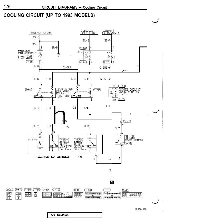 Mitsubishi 3000gt Dodge Stealth, 3000gt Wiring Diagram