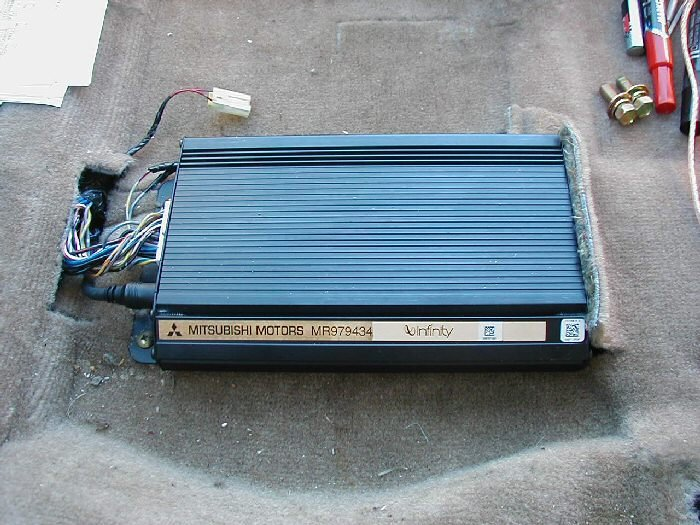 the 315 watt mitsubishi infinity cd audio system with 7 speakers rh 3si org