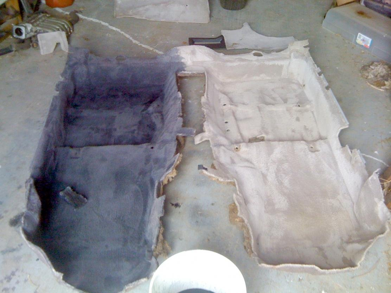 carpet dye or just new carpet page 2 3000gt stealth international message center. Black Bedroom Furniture Sets. Home Design Ideas