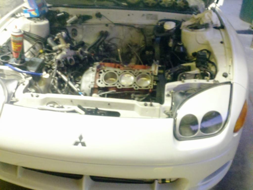 Vr4 Engine Rebuild 3000gt Vr4 W/built Engine For